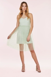 Forest Lily Dress With Pearls - Product Mini Image
