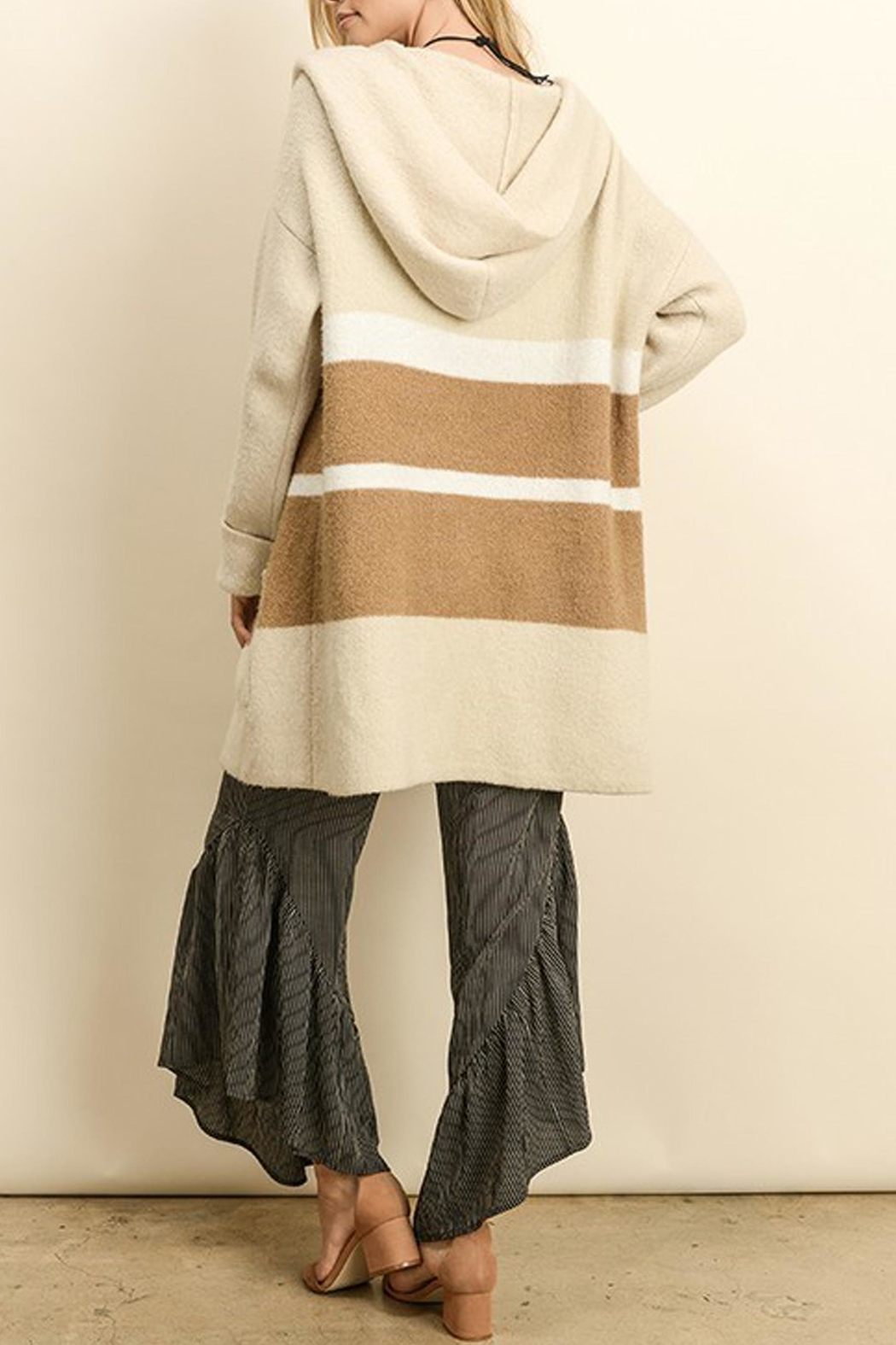 dress forum Anne Colorblock Cardigan - Front Full Image