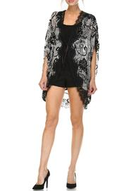 dress forum Black Lace Kimono - Product Mini Image