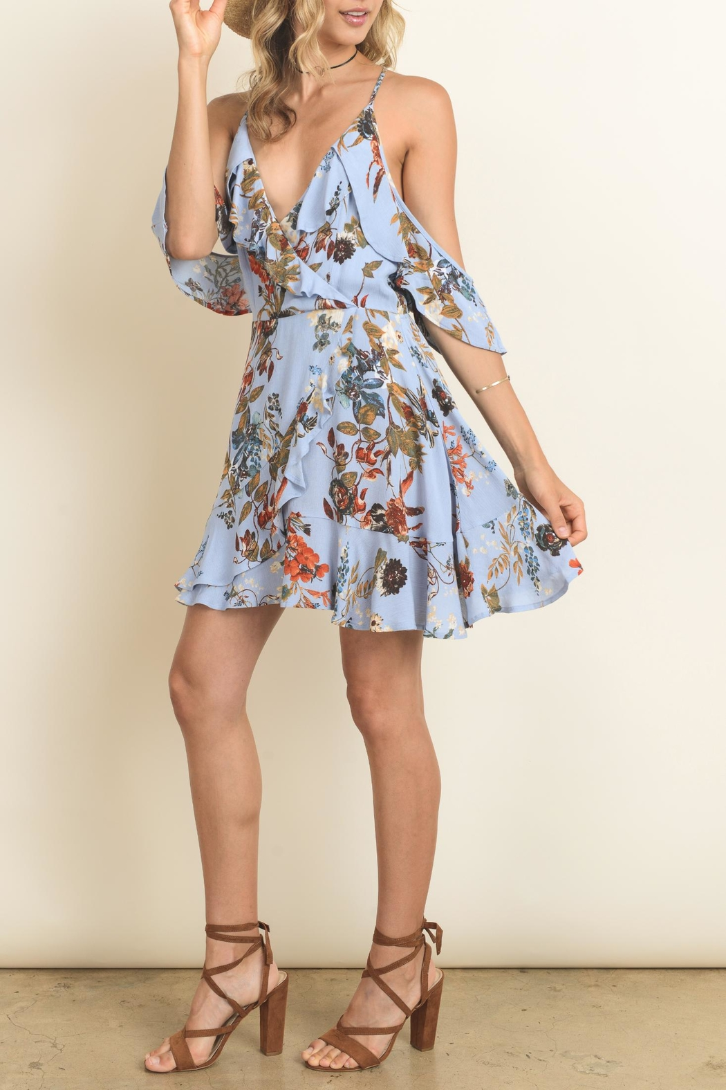 Dress Forum Blue Flower Dress From Florida By Pink And Navy Shoptiques