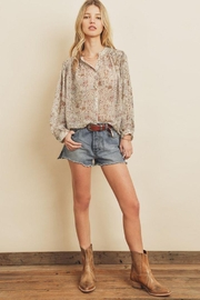 dress forum Boho Ethnic Button Down Top - Other
