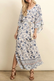 dress forum Border Printed Kimono - Product Mini Image
