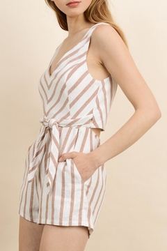 dress forum Chevron Tie Romper - Alternate List Image