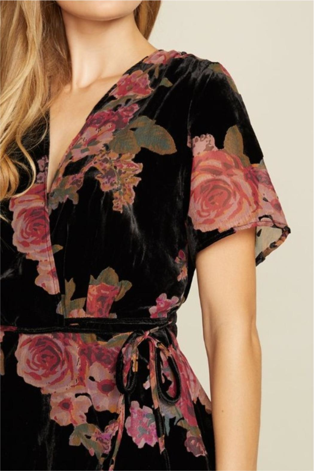 dress forum Delicate As A Flower Top - Back Cropped Image