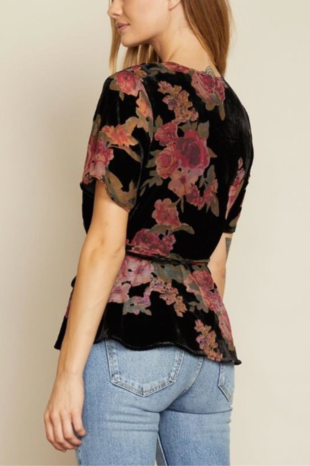 dress forum Delicate As A Flower Top - Side Cropped Image