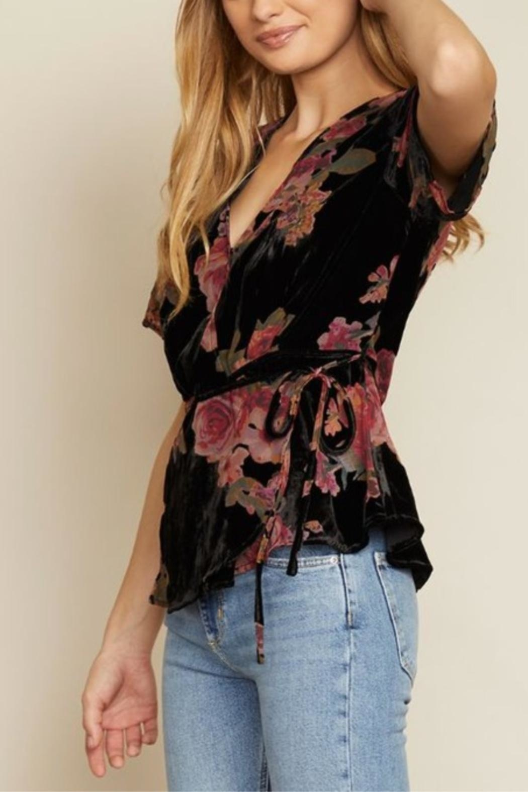 dress forum Delicate As A Flower Top - Front Full Image