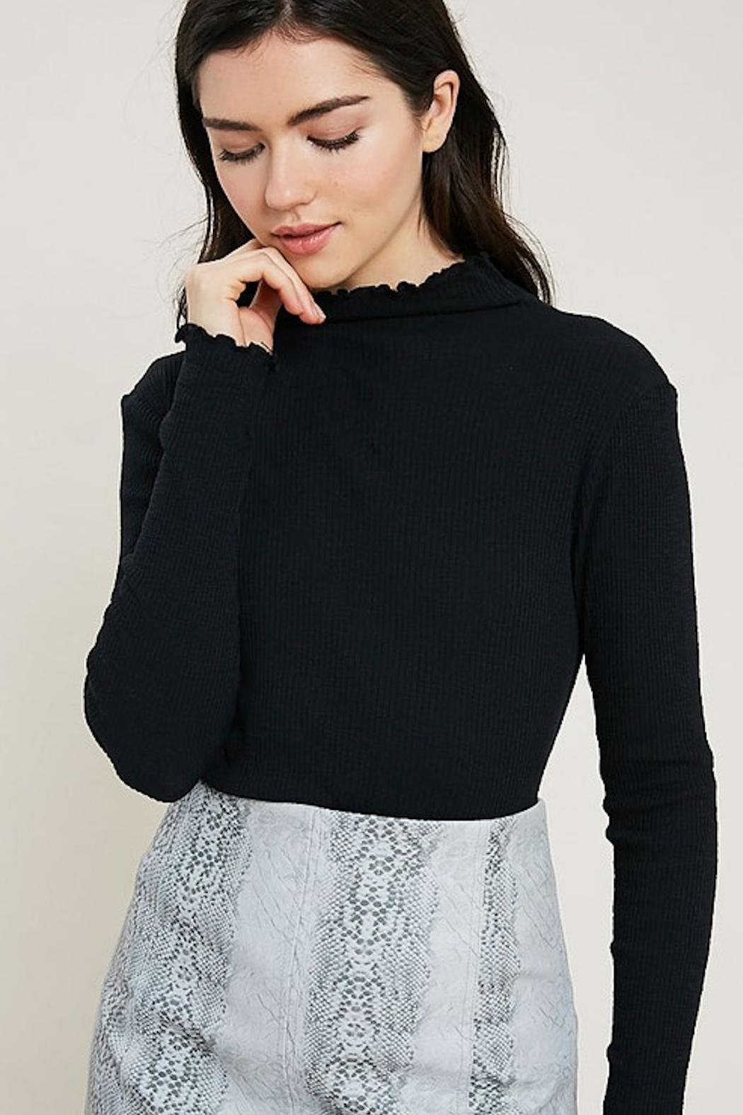 dress forum Essential Turtleneck - Front Cropped Image