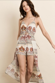 dress forum Ethnic Print Romper - Product Mini Image