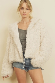 dress forum Faux-Fur Hooded Jacket - Product Mini Image