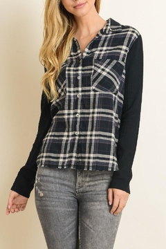 dress forum Flannel Button Down - Product List Image