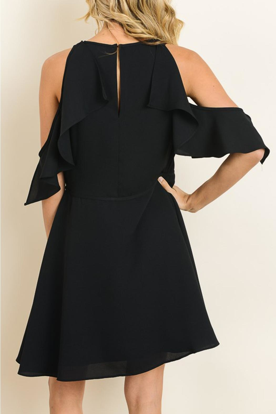 dress forum Flirty Black Dress - Front Full Image