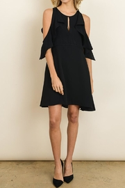 dress forum Flirty Black Dress - Front cropped