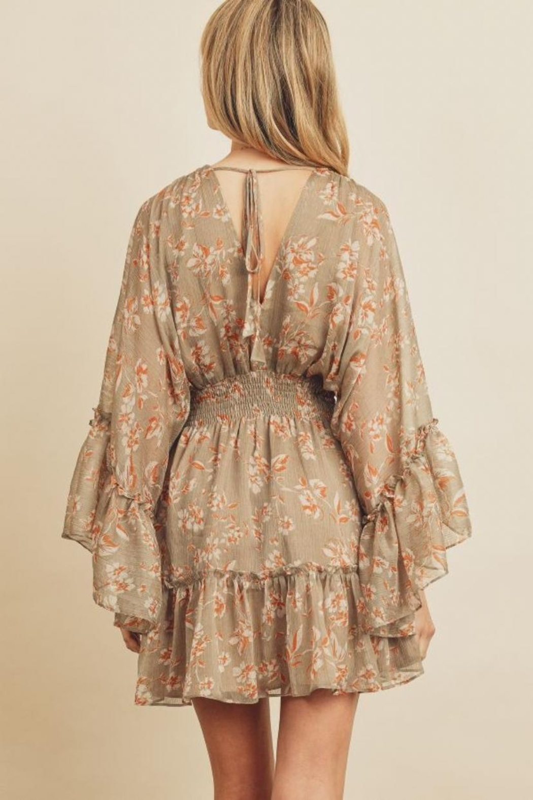 dress forum Floral Butterfly Dress - Side Cropped Image