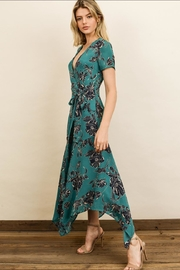 dress forum Floral Midi Dress - Front full body