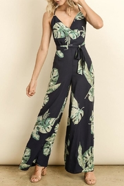 dress forum Floral Print Jumpsuit - Product Mini Image