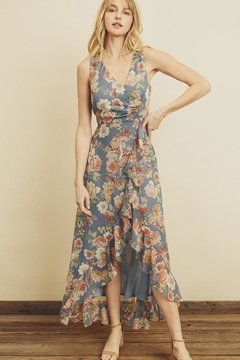 dress forum Floral Ruffle Hi-Low - Product List Image