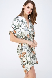 dress forum Floral Shirt Dress - Side cropped