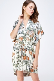dress forum Floral Shirt Dress - Front cropped