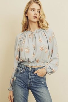 dress forum Floral Smocked Blouse - Product List Image