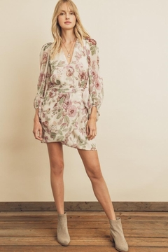 Shoptiques Product: Floral Surplice Dress