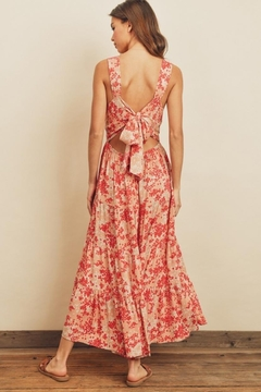dress forum Floral Tie-Back Dress - Alternate List Image