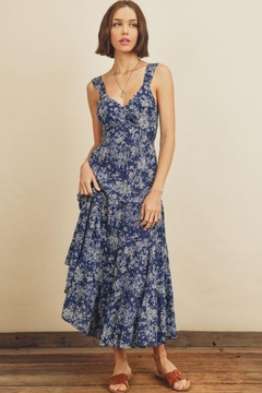 dress forum Floral Tie-Back Dress - Product List Image