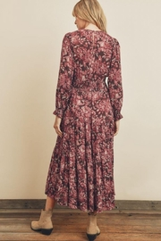 dress forum Floral Tiered Dress - Side cropped
