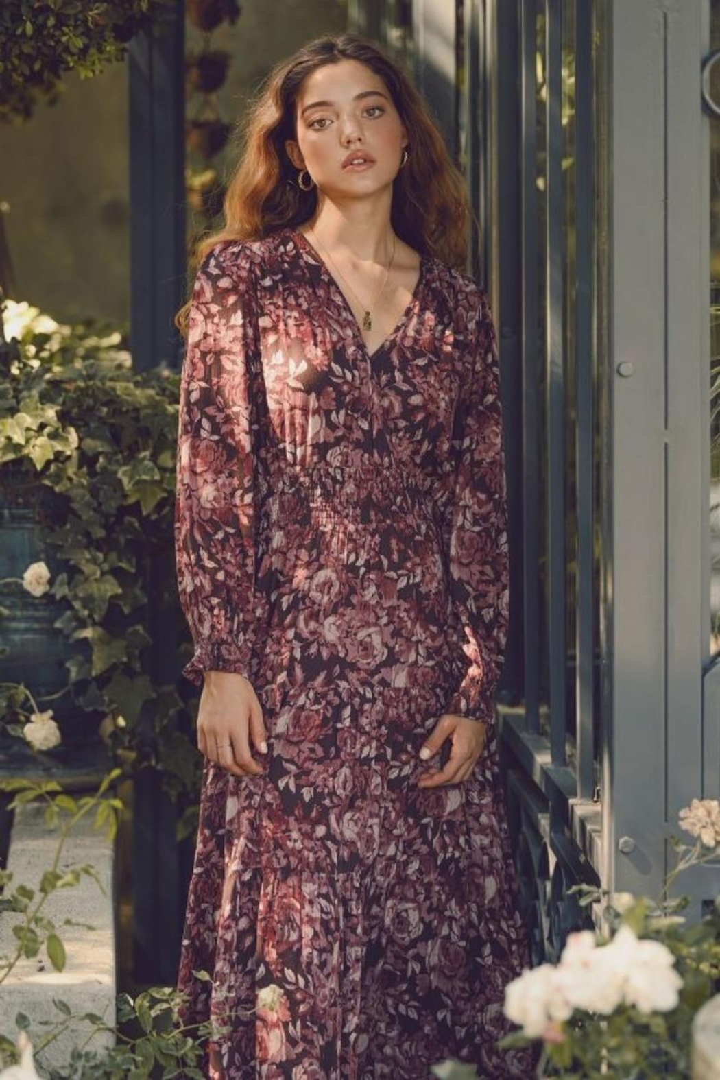 dress forum Floral Tiered Dress - Main Image