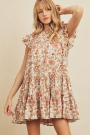 dress forum Floral Trapeze Dress - Product Mini Image