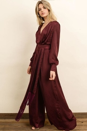 dress forum Fringe Belt Jumpsuit - Product Mini Image