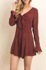 dress forum Front Tie Romper - Product Mini Image
