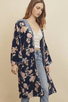 dress forum Full Of Love Velvet Kimono - Product List Image