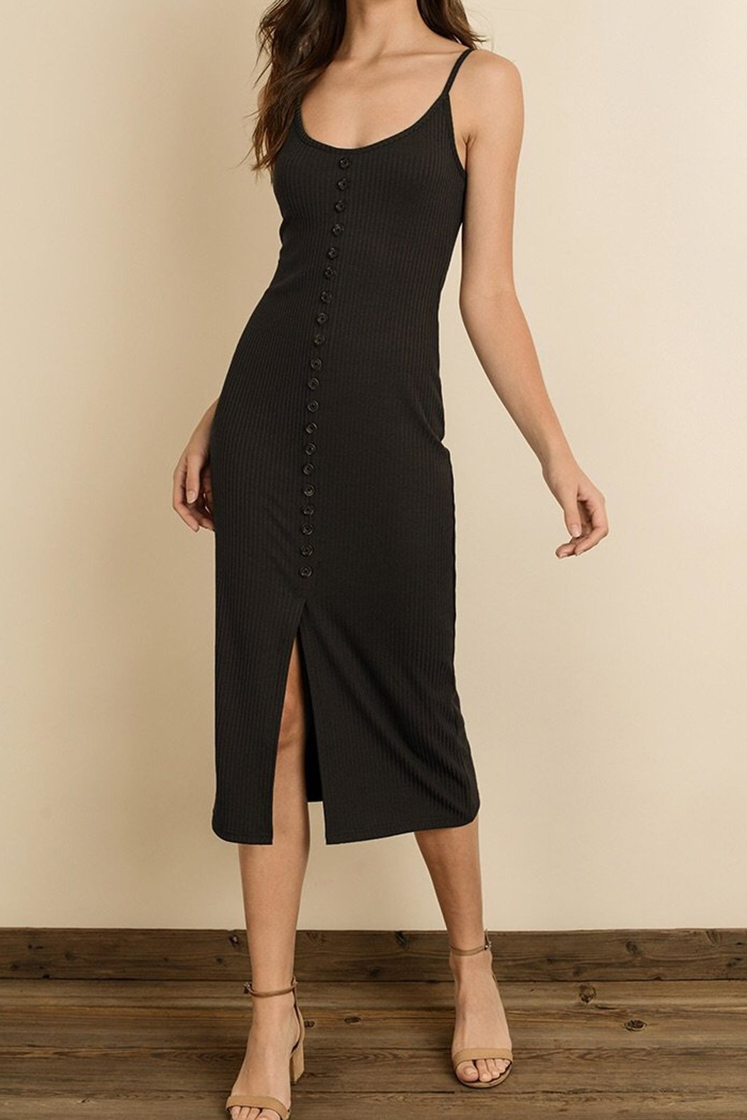 dress forum Heather Knit Midi - Front Cropped Image