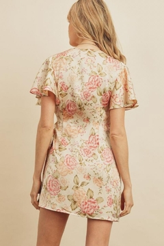 dress forum Joy Tulip Wrap-Dress - Alternate List Image