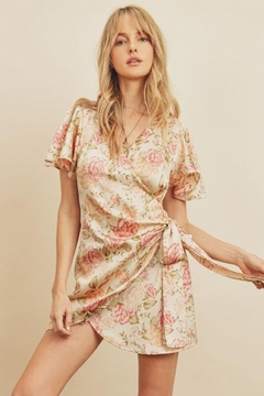 dress forum Joy Tulip Wrap-Dress - Product List Image