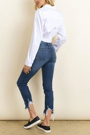 dress forum Knotted Buttondown Shirt - Side cropped