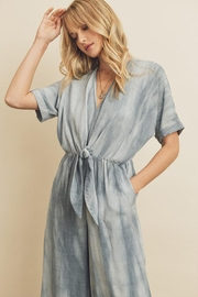 dress forum Knot Front Jumpsuit - Front full body