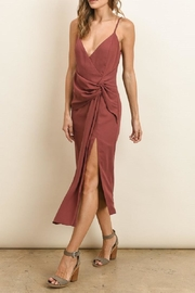 dress forum Knot Midi Dress - Front cropped
