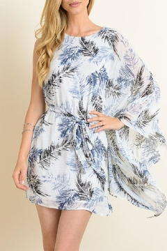 Shoptiques Product: Leaf Kaftan Dress