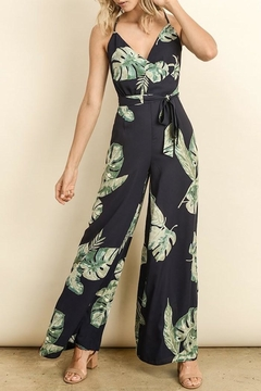 Shoptiques Product: Leaf Print Jumpsuit