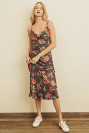 dress forum Leopard Flower Cowl Neck Slip Dress - Other