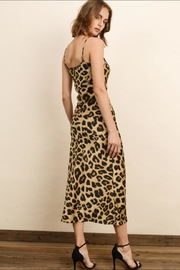 dress forum Leopard Satin Dress - Side cropped