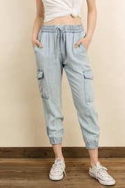 dress forum Mineral Washed Joggers - Product Mini Image