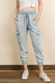 dress forum Mineral Washed Joggers - Front cropped