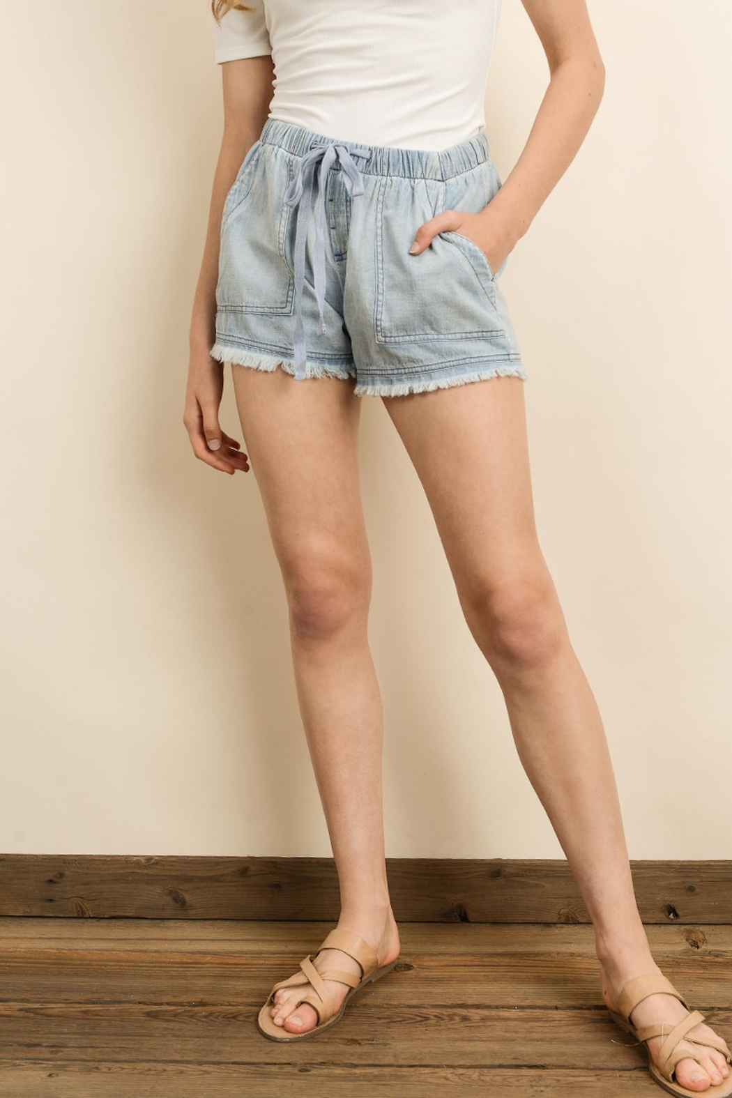 dress forum Mineral Washed Shorts - Main Image