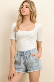 dress forum Mineral Washed Shorts - Side cropped