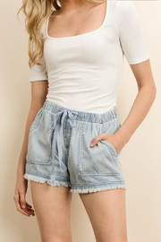 dress forum Mineral Washed Shorts - Front full body