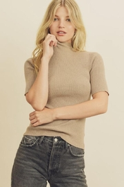 dress forum Mock Neck Top - Product Mini Image