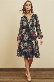 dress forum Floral Pleated Dress - Product Mini Image