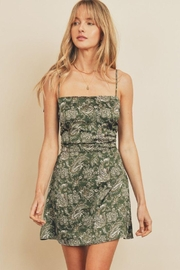 dress forum Paisley Fit & Flare Ruched Mini Dress - Other